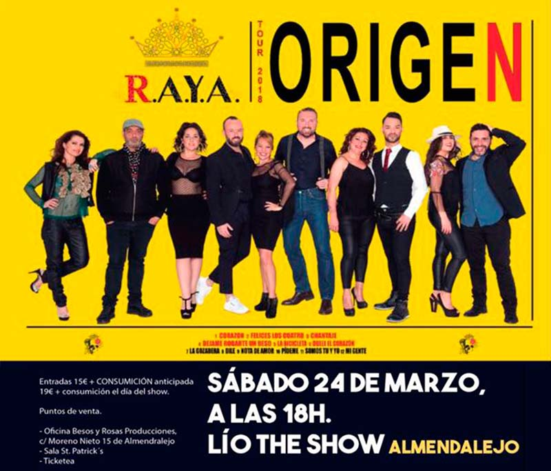 Concierto en Almendralejo - 24 de Marzo
